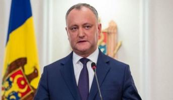 المحكمة الدستورية في مولودفا تعلق مؤقتا مهام رئيس البلاد