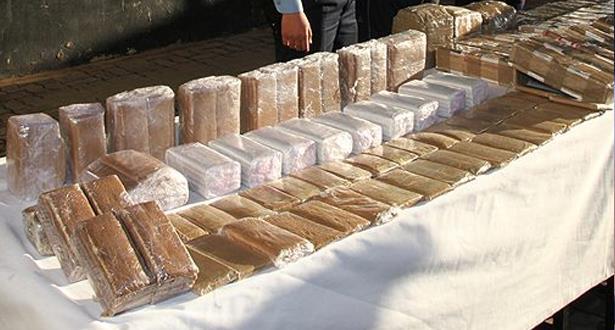 Oujda: saisie de 530 kg de chira