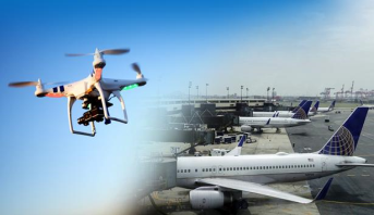 طائرة مسيرة تعرقل الملاحة الجوية في مطار نيوآرك الأمريكي