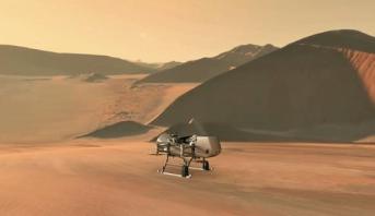 La Nasa va envoyer un drone sur Titan