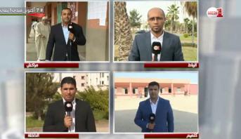 ارتفاع في نسب المشاركة بعد صلاة الجمعة ومبعوثو مدي1 تيفي إلى مراكش والرباط والداخلة وكلميم يرصدون الأجواء