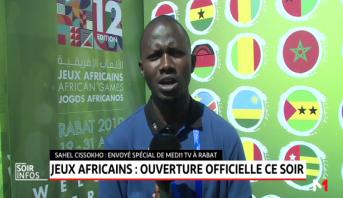 Rabat accueille la 12ème édition des Jeux Africains