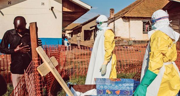 """منظمة الصحة العالمية تعلن عن وفاة 44 شخصا بسبب فيروس """"إيبولا"""" في الكونغو"""