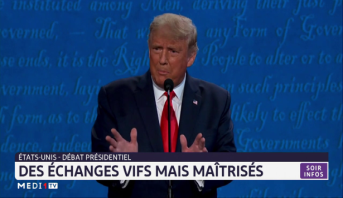 Débat présidentiel aux USA: des échanges vifs mais maîtrisés