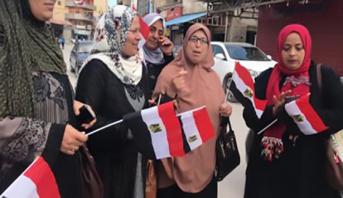بدء التصويت في الاستفتاء على التعديلات الدستورية في مصر