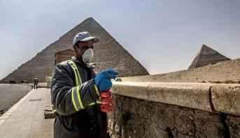 مصر تتوقع بلوغ ذروة تفشي وباء كورونا في غضون أسبوعين