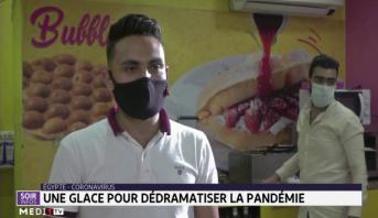 Egypte: une glace pour dédramatiser la pandémie
