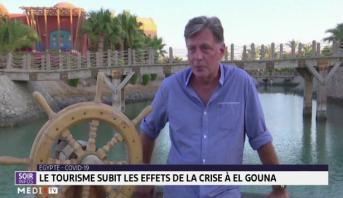 Covid-19: le tourisme subit les effets de la crise à El Gouna