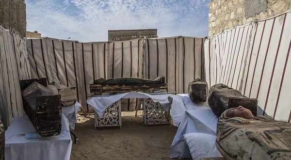 """Egypte: des nouveaux """"trésors"""" archéologiques dévoilés au public"""