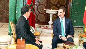 """الملك """"ضون"""" فيليبي السادس يستقبل رئيس الحكومة المغربي سعد الدين العثماني"""