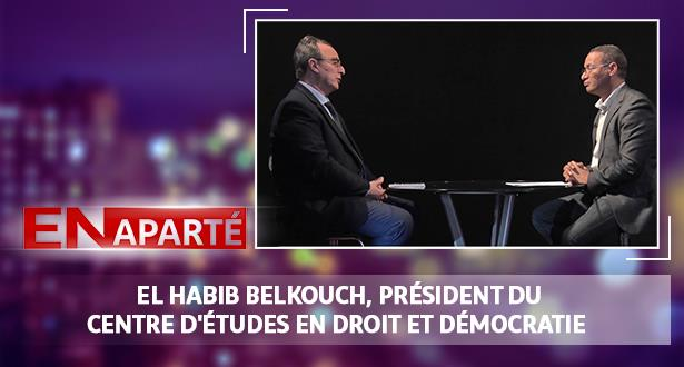 El Habib Belkouch, Président du centre d'études en droit et démocratie