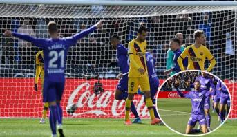 Le somptueux but de Youssef En-Nesyri contre le Barça