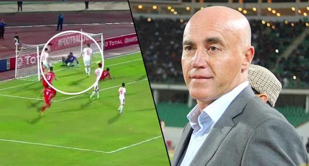 """مدرب حسنية أكادير يعلق على """"مهزلة"""" التحكيم في مباراة الزمالك"""