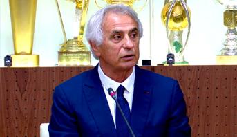 التسجيل الكامل للندوة الصحفية للناخب الوطني الجديد وحيد خليلوزيتش