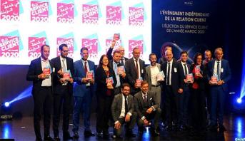 """Maroc: 14 entreprises élues """"Service client de l'année"""""""
