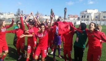 المنتخب الوطني النسوي يتوج بلقب بطولة شمال إفريقيا