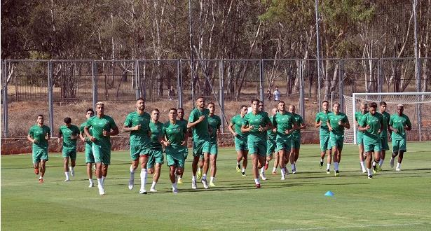 برنامج معسكر المنتخب الوطني قبل مباراتي مالاوي والأرجنتين