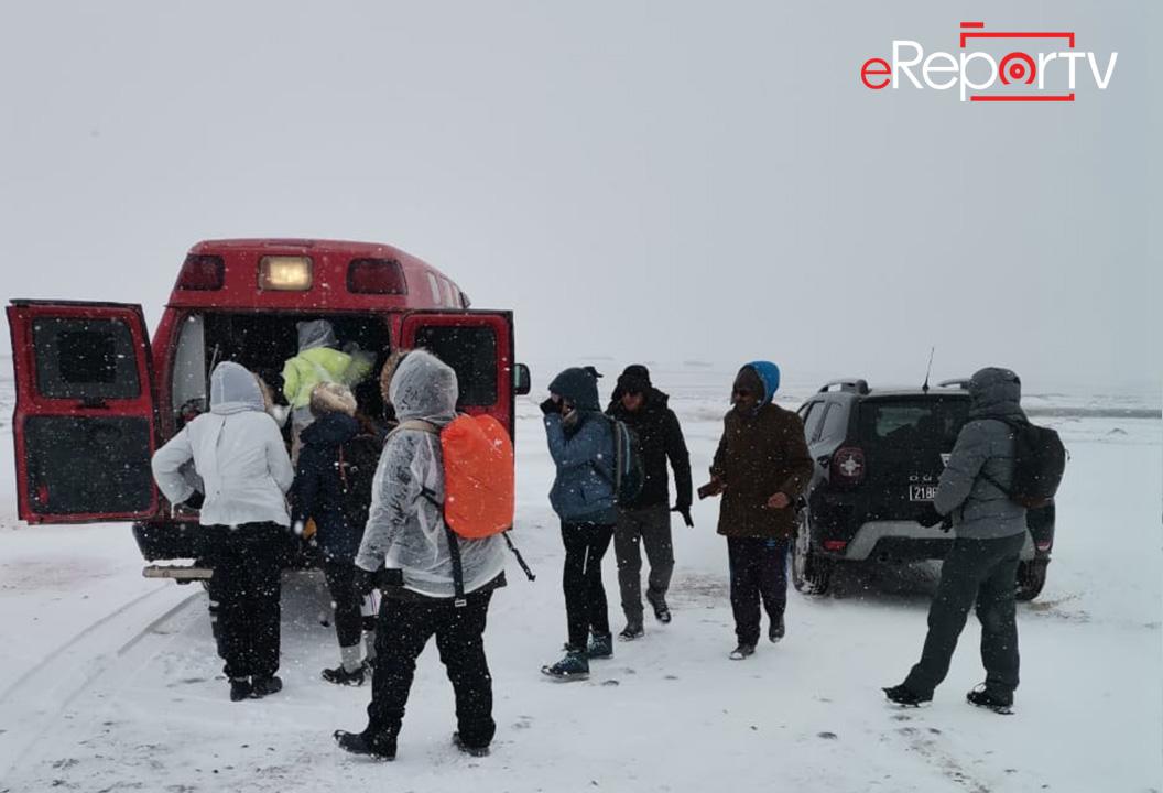 إنقاذ سياح مغاربة بمنطقة إملشيل حاصرتهم الثلوج