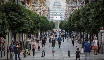 احتجاجات مصحوبة بأعمال شغب وتخريب في عدة مدن بإسبانيا ضد القيود المشددة لمواجهة تفشي كورونا