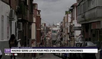 Espagne: Madrid serre la vis pour près d'un million de personnes