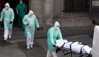 رقم قياسي جديد في اسبانيا .. وفاة 849 في 24 ساعة جراء فيروس كورونا