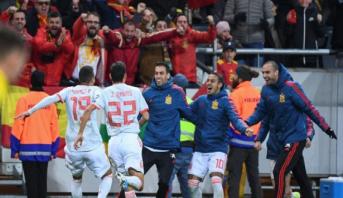 """منتخب إسبانيا ينتزع ورقة التأهل إلى نهائيات """"يورو 2020"""""""