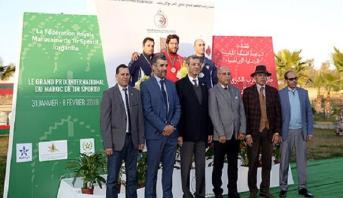 الإسباني فيرنانديز مينوز يتوج بلقب جائزة المغرب الدولية الكبرى للرماية الرياضية
