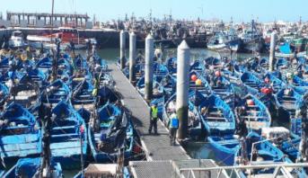 حملة تعقيم واسعة بميناء الصويرة بعد قرار إغلاقه بسبب كورونا