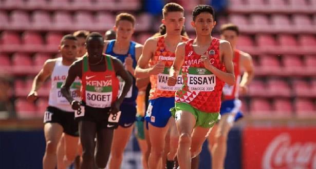 العداء أنس الساعي يهدي المغرب ثاني ميدالية فضية في الألعاب الأولمبية للشباب