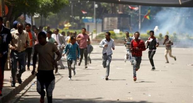 مقتل 21 شخصا خلال اضطرابات في جنوب إثيوبيا