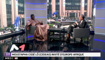 """Le Président du Parlement de la CEDEAO Moustapha Cissé Lô (CEDEAO), invité de l'émission """"Europe-Afrique"""" samedi 16 novembre à 21h30"""