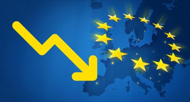 اقتصاد منطـقة اليورو يتراجع في الربع الأول من السنــة الجارية