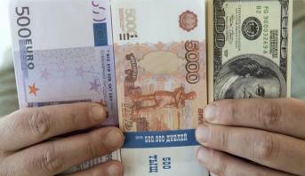 ارتفاع سعر صرف العملة الروسية أمام الدولار واليورو