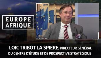 Europe Afrique > Loïc Tribot La Spiere, directeur général du Centre d'étude et de prospective stratégique