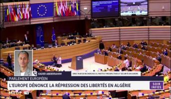 Répression des libertés en Algérie: le Parlement européen adopte une résolution d'urgence