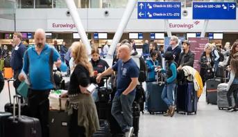 إلغاء رحلات جوية في مطارات ألمانيا بسبب إضراب  المضيفين