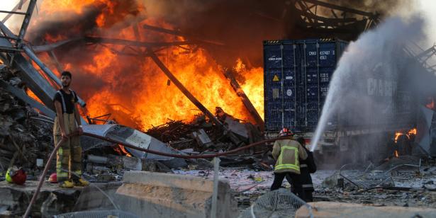 Explosions au Liban: le bilan grimpe à 137 morts et 5.000 blessés