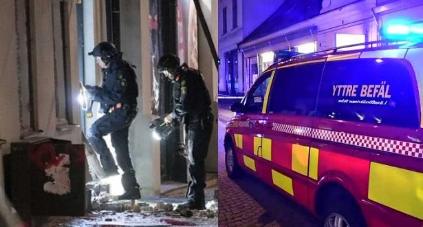 جريح في انفجار في مدينة لوند السويدية