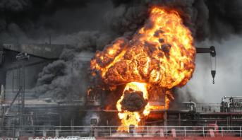 كوريا الجنوبية.. إصابة 12 بحارا في انفجار على ناقلة نفط