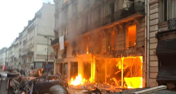 Paris: très forte explosion dans une boulangerie, plusieurs blessés