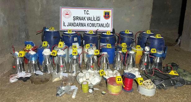ضبط طنين من المواد المتفجرة جنوب شرق تركيا
