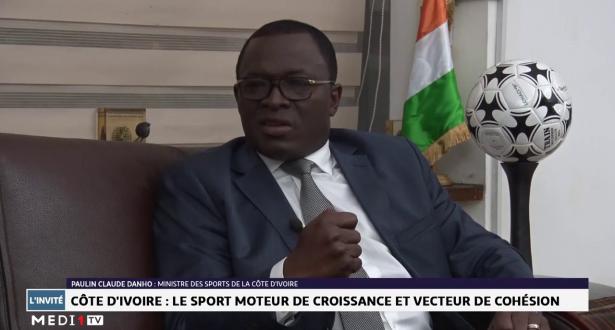 Paulin Claude Danho, Ministre des sports de la Côte d'Ivoire : Nous serons prêts pour 2023 afin d'offrir à la jeunesse africaine une fête exceptionnel
