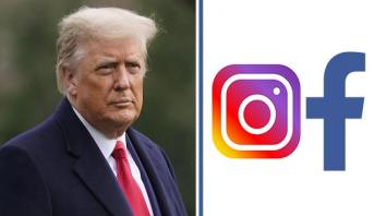"""تمديد الحظر المفروض على حسابي ترامب على """"فيسبوك"""" و""""أنستغرام"""""""