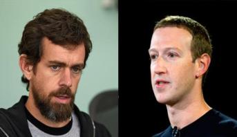 """مؤسسا """"فيسبوك"""" و""""تويتر"""" في جلسة استماع جديدة أمام مجلس الشيوخ"""