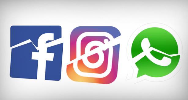 """توضيح """"فيسبوك"""" حول توقف المنصة الرقمية والتطبيقات التابعة لها"""