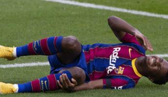 لاعب برشلونة فاتي يعود للملاعب بعد تعافيه من الإصابة