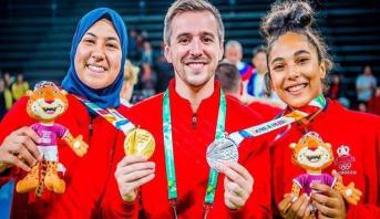 استقبال حافل للبطلة الأولمبية فاطمة الزهراء أبو فارس