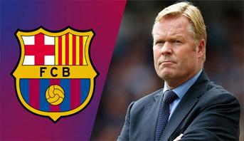 Le FC Barcelone limoge son entraîneur Ronald Koeman