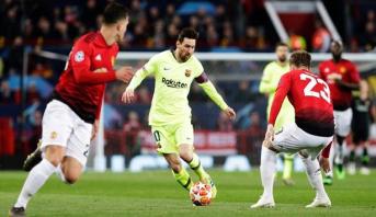برشلونة يخطف فوزا ثمينا من مان يونايتد ويقترب من المربع الذهبي
