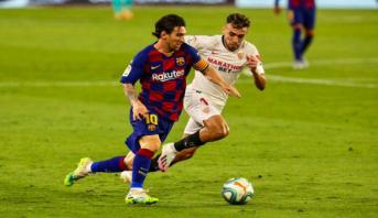 بطولة إسبانيا: نقطة واحدة لبرشلونة وريال مدريد يتربص به